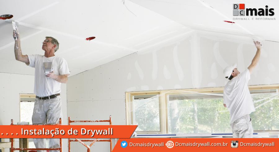 Instalacao de Drywall