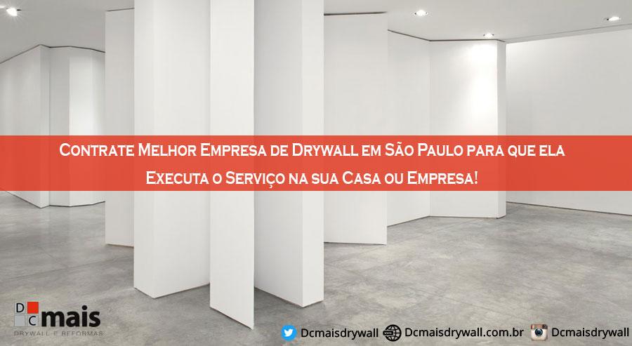 Empresa de Drywall em São Paulo