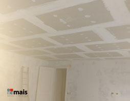 Montagem de Forro de Drywall
